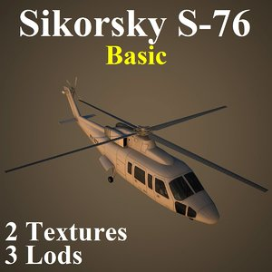 3d model sikorsky basic