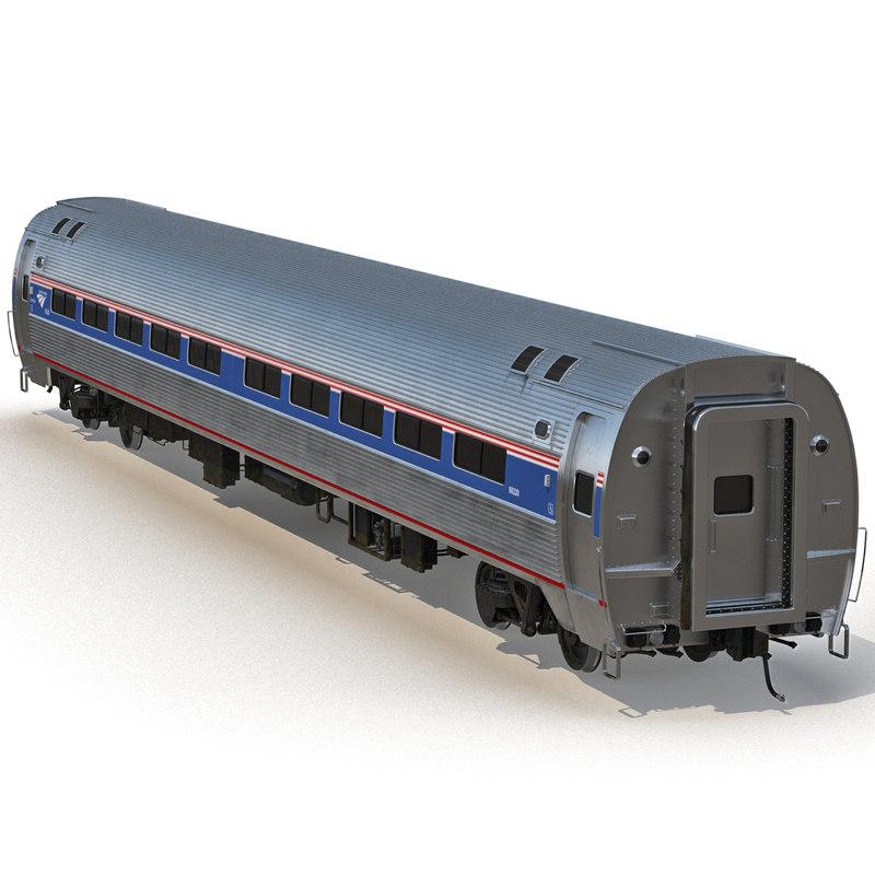 railroad amtrak passenger car interior 3d max. Black Bedroom Furniture Sets. Home Design Ideas
