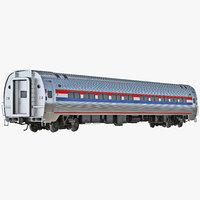 3dsmax railroad passenger car generic