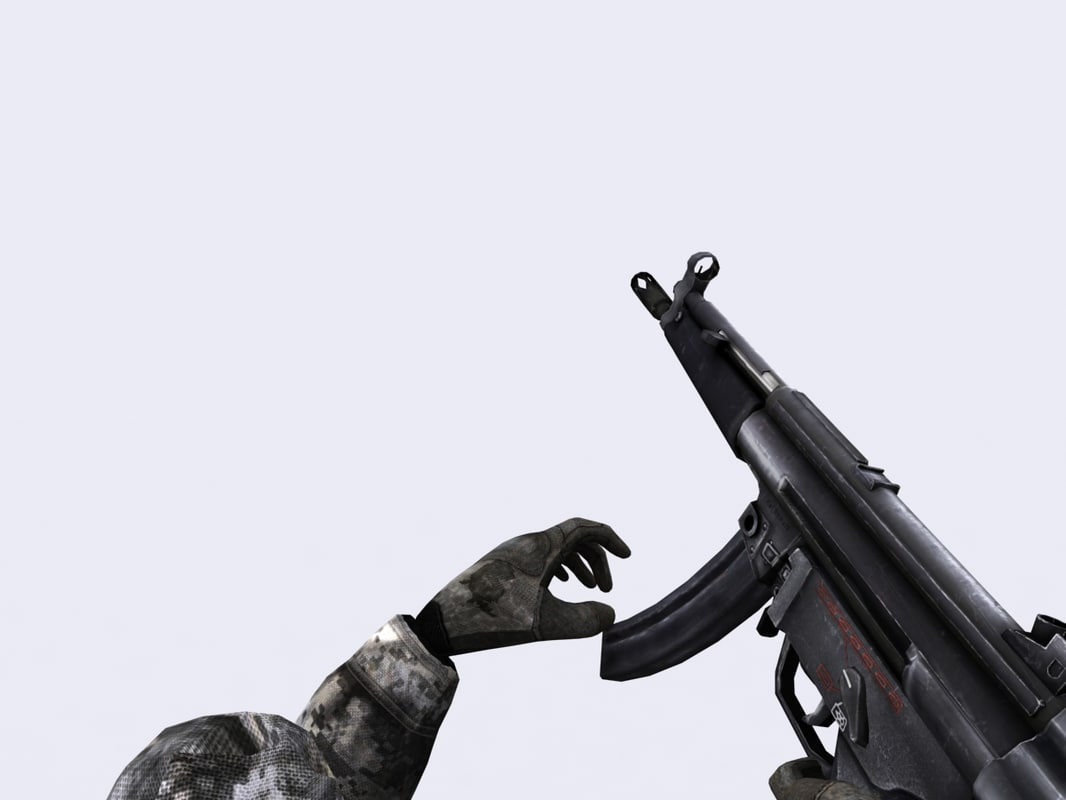 3ds max modern firearms -