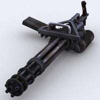 3DRT - Modern Firearms - Minigun M134