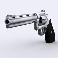 3d magnum revolver - modern model
