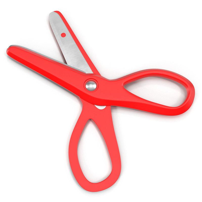 scissors 3 red 3ds