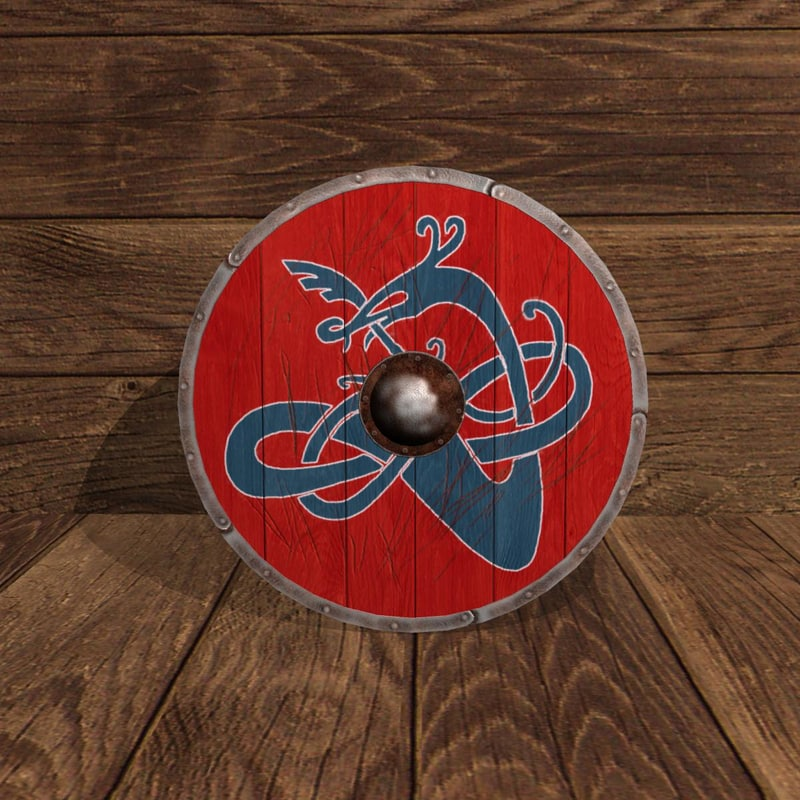 obj viking shield