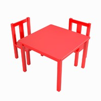 3d kids table model