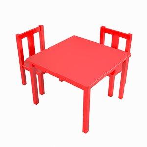 3d kids table model