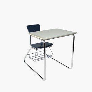 max school chair desk