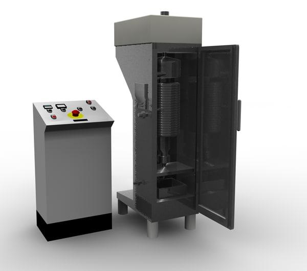 3dsmax tubular centrifuge