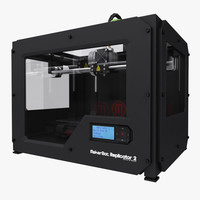 3d makerbot replicator printer model
