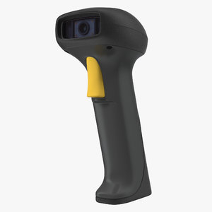 3d barcode scanner model
