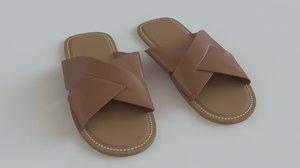 3d arabian sandal