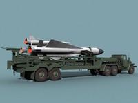 Ural-375/SA-5 loader