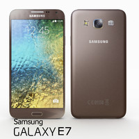 samsung galaxy e7 brown 3d max