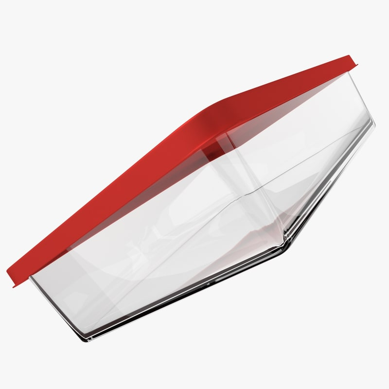 obj glass food container