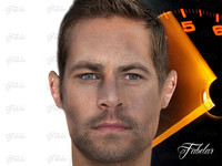 paul walker 3d obj