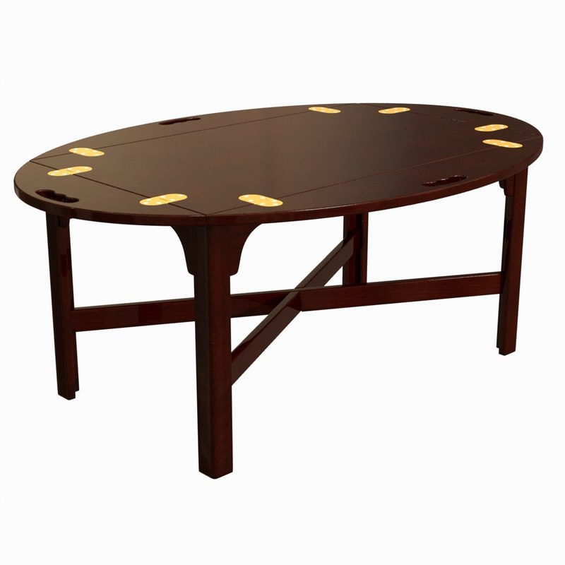 table reagan s oval 3d max