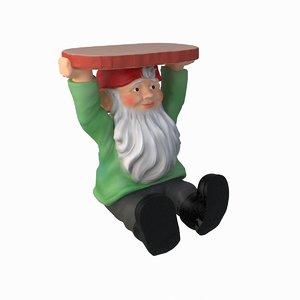 gnome night stand 3d max
