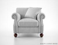 3ds max ralph lauren edwardian armchair