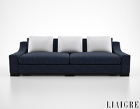 christian liaigre vauban sofa 3d max