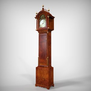 3d grand father s clock
