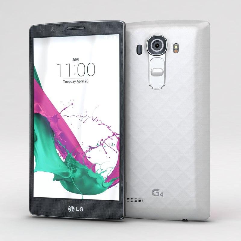 3d lg g4 dual white model