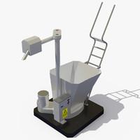 3d model flour sifters