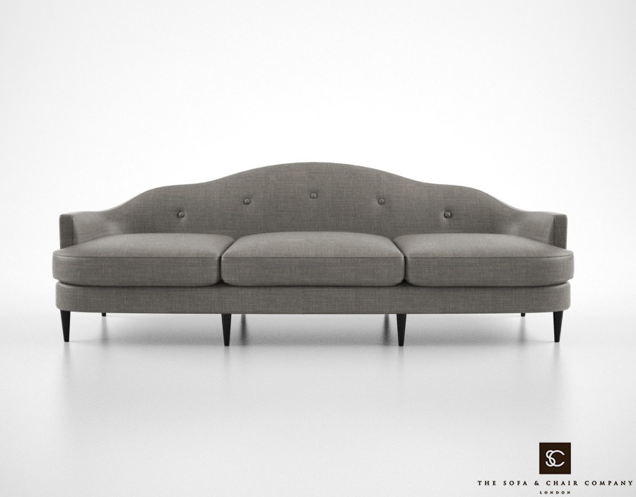 3d model sofa chair company bernini