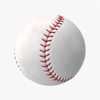 baseball 2 3d max