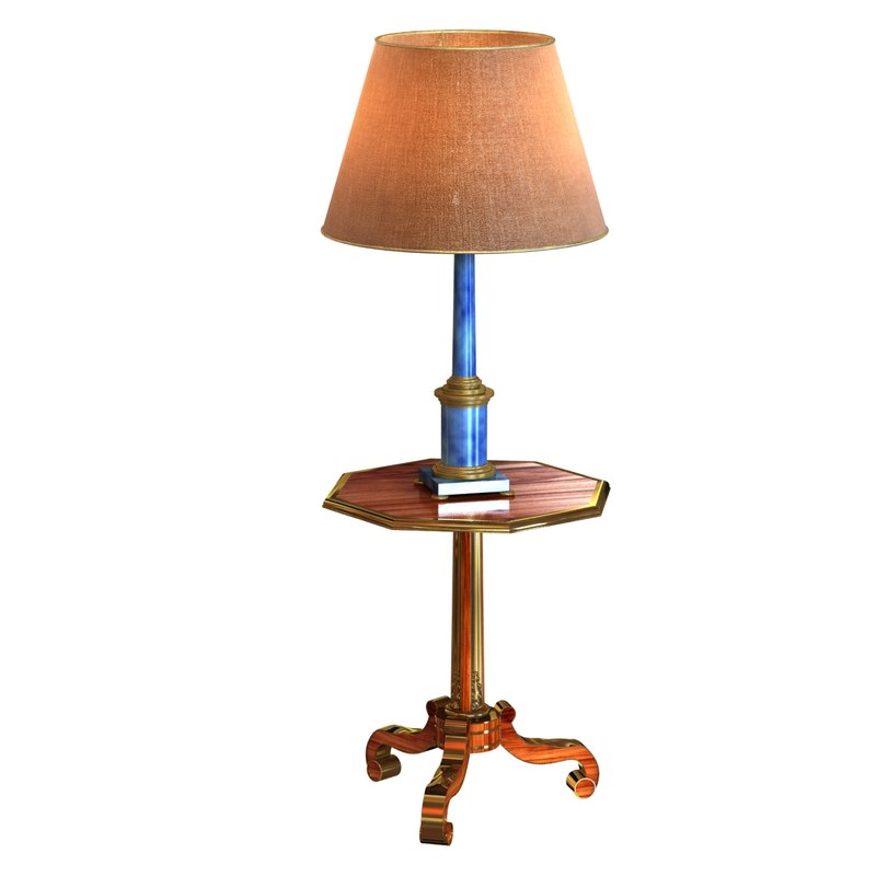 3ds neoclassical lamp classic table