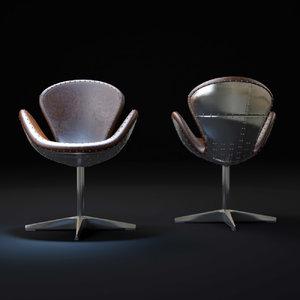 3dsmax timothy-oulton-devon-swivel-chair