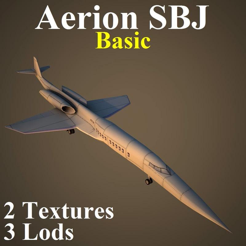 3d aerion sbj basic model