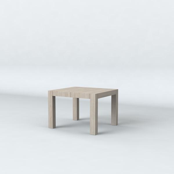 table kaspian 3d obj