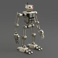 Robot ARU-01 bipedal humanoid walker