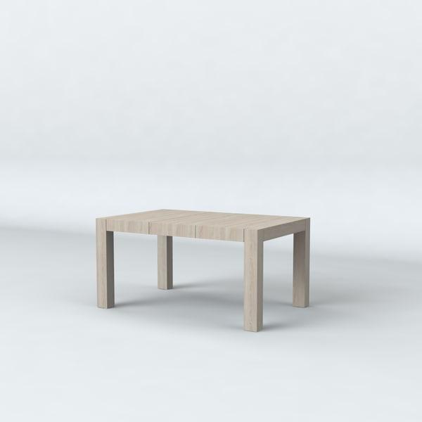 3d model table kaspian