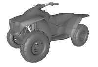 Army Quad Bike
