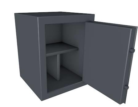 3ds max safe open door