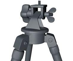 camera tripod 3d dxf