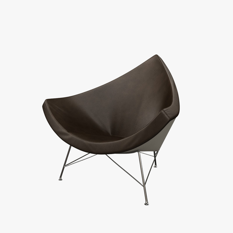 george nelson coconut chair 3d obj