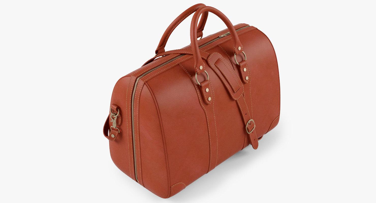 weekender travel bag 3d max