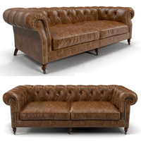 eichholtz club sofa 3d model