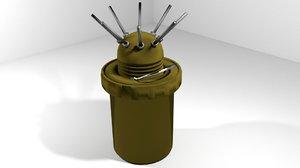 landmine bounding 3ds