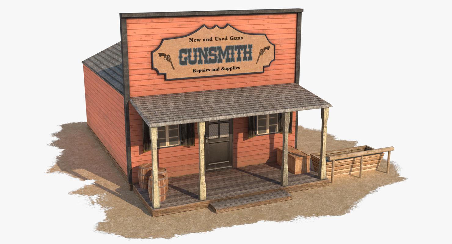 max wild west gunsmith