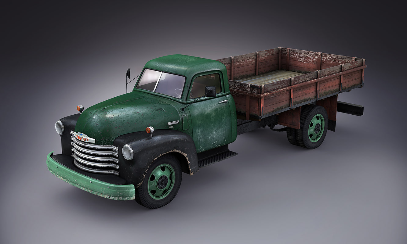 3ds max truck 6400