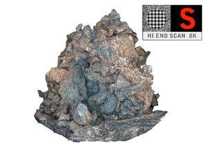 lava timanfaya scanned 8k 3d max