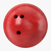 Bowling Ball Red