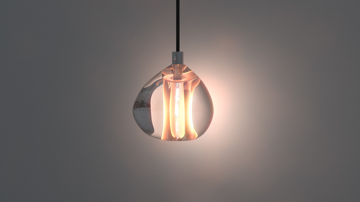 chandelier pendant light 3d max