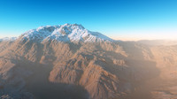 Arid Volcanic Landscape