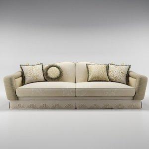 bruno zampa achille sofa 3d obj