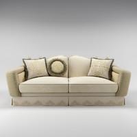 3dsmax bruno zampa achille sofa