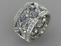 Ring with Marquises